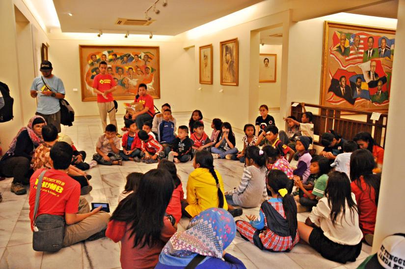 HHI Visit Museum Basoeki Abdullah. (doc Tom Yoichi)