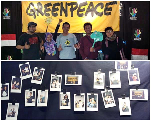 Nobar Pejuang Laut bersama Greenpeace. (doc pribadi)