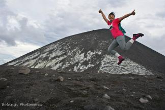 #1. Krakatau pelajaran pertama, mas fruu Pru mengajari menapak, melangkah, menjejak dan menanjak. Terima kasih ya mas fruu :) (doc --- lupa)