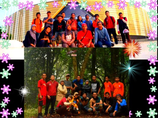 #4. Our hapy team at Manglayang Mountain (album Ricky Merah)