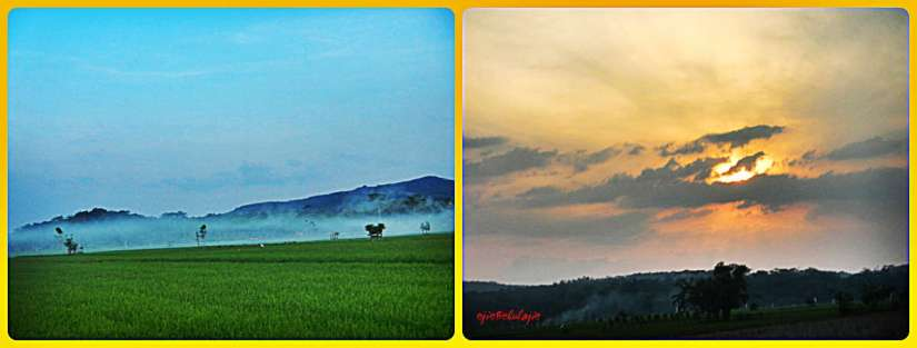 Pemandangan sepanjang perjalanan menuju Roban, Batang(photo by Ejie)