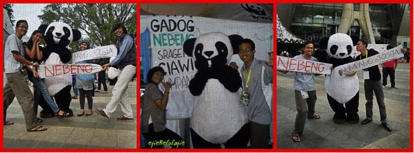 HHI bersama Panda WWF(doc by Ejie/Wirawan)
