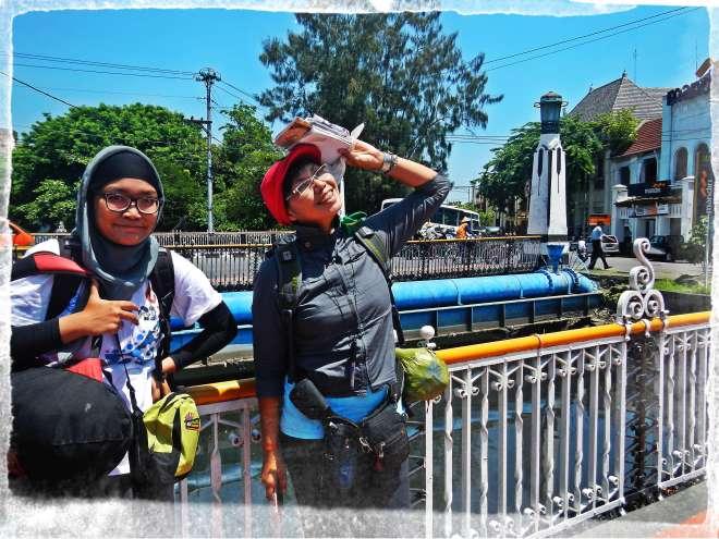 Jembatan Kota Lama Semarang(photo by Bule)