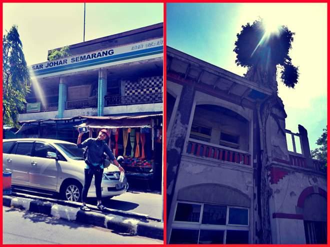 Pasar Johar dan PT. Perkebunan XV Persero(photo by Tides)