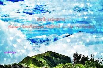 #9. Bentangan selimut tampak dari Gunung Merbabu yang membuatku terpana (doc pribadi)