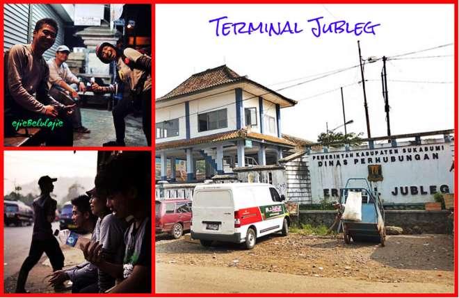 Terminal Jubleg, pos pemberhentian terakhir perjalanan hitching ke Buniayu(doc by Ongston Obe/BBram)