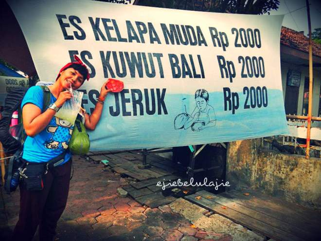 Daftar harga Es Kuwut Bali terpampang jelas(doc pribadi)