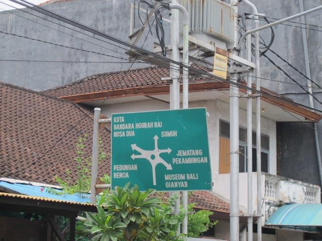 Plang simpang 6 yang berhasil kupotret(doc Hikmah photo by me)