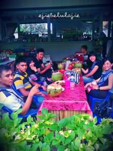 Makan siang di Nusa Dua(doc pribadi)