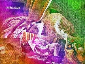 Diantara keluarga kucing ini, aku yang paling jarang bisa tidur senyenyak mereka. Mereka yang bisa tertidur pulas begitu bertemu kasur, bantal, dan selimut. Ahh.. keluarga kucing yang nyaman :)(doc Hikmah, photo by me)