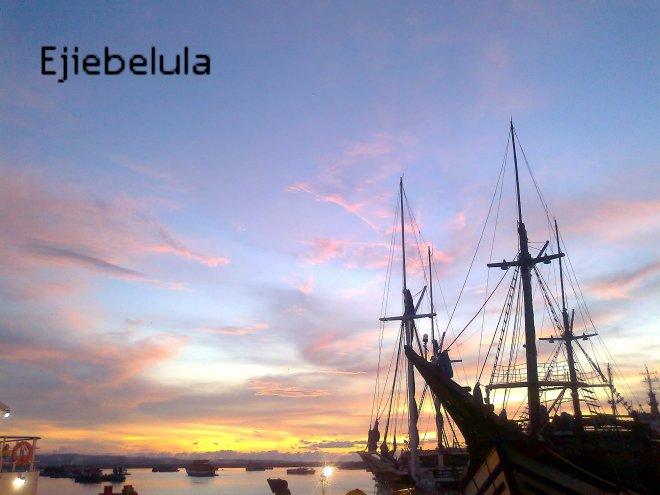 Menemukanmu di langit Benoa, Bali.(doc pribadi)