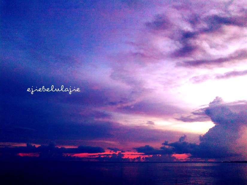 Langit cantik ini, Lombok Timur, tertangkap oleh mataku yang mencari(doc pribadi)