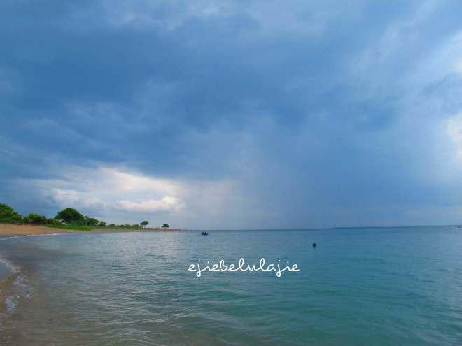 POSAL, Selat Alas, Lombok, senja cerah(doc Hikmah photo by me)