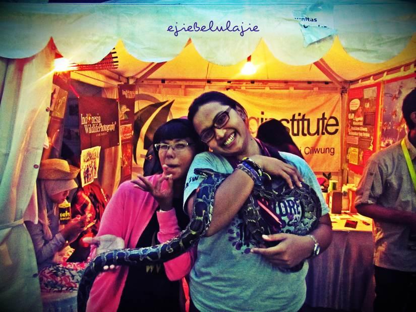 Bersama Mamah Gigith dan Benny (doc Githa)