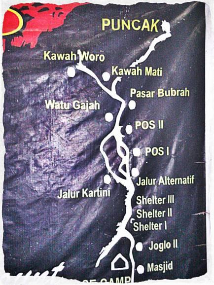 Jalur Merapi via Selo (doc Ricky Merah)