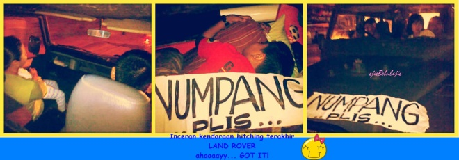 The last, land rover! (doc pribadi)