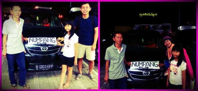 Sampai di tujuan, pertigaanan Depok, Jl. Raya Bogor. Terima kasih atas tumpangannya :) (doc pribadi)
