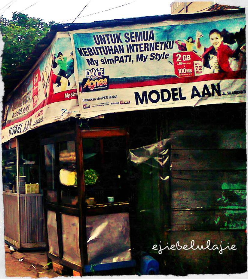 Model Aan Mang Pardi, Jl. Silaberanti-Plaju (doc pribadi)