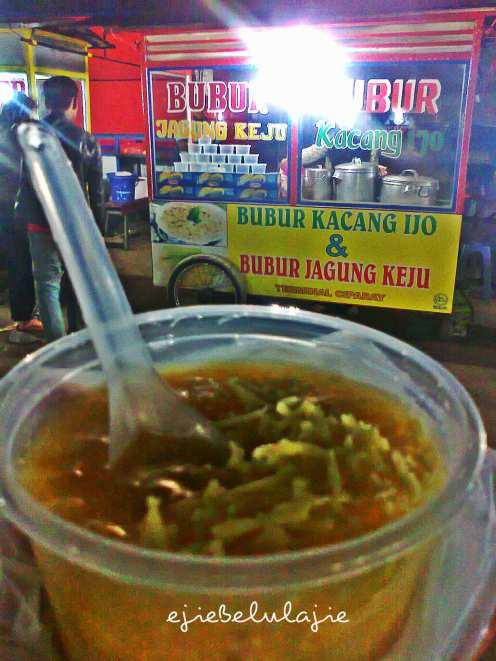 Bubur jagung keju Ciparay (doc pribadi)
