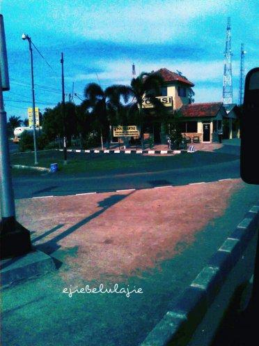 Pos Polisi Loh Bener, Indramayu (doc pribadi)