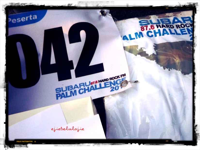 My lucky number, 42, Subaru Palm Challenge (doc pribadi)