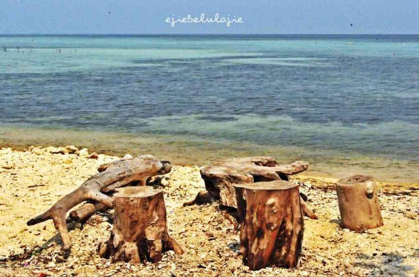 Spot pantai yang Ejie suka! Ada BINTANG disana! :D (doc pribadi)
