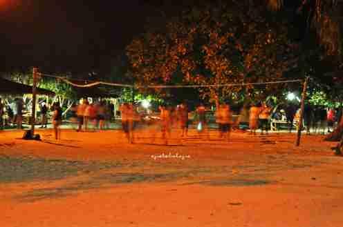 Lapangan bola voli pantai (doc pribadi)