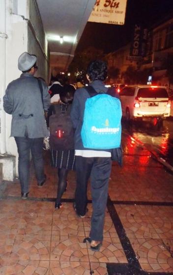 Janji temu dengan backpacker Bandung (doc pribadi)