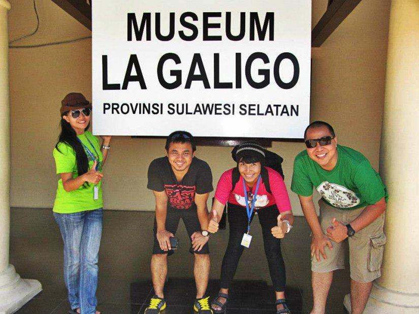 Bersama teman baru dari daerah yang sama, Sumatera :) (doc Kak Agus)