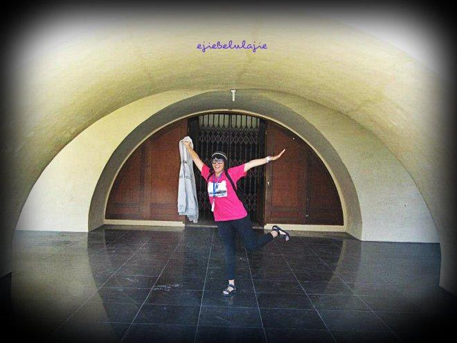 Dalam terowongan?? :D (doc Kak Agus)