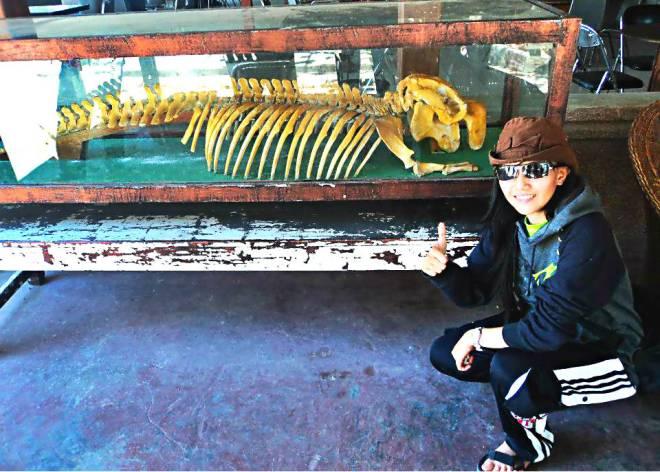 Zela dan tulang-belulangnya. Woooo?? :D (doc Zela)