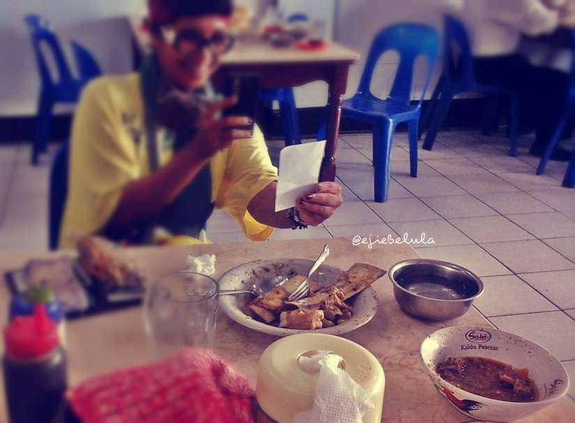 Hasil kelaparan, sop saudara dan sop konro!  (doc Kaper)
