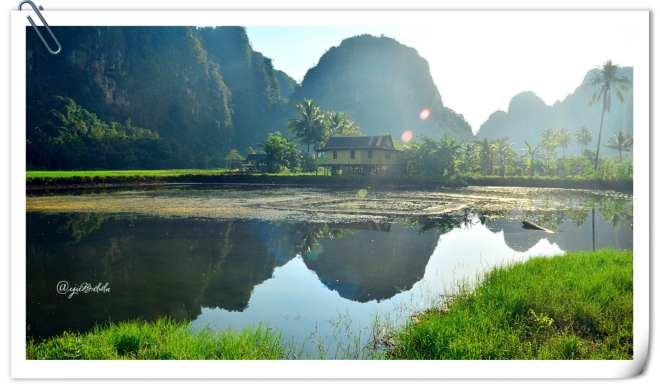 Pagi ceria di Kampung Berua (doc pribadi)