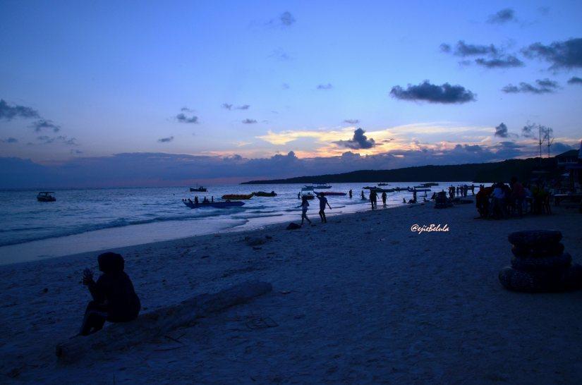 Sunset of Tanjung Bira (doc pribadi)
