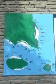 Spot of diving from Bara Beach dive site camp. (doc pribadi)