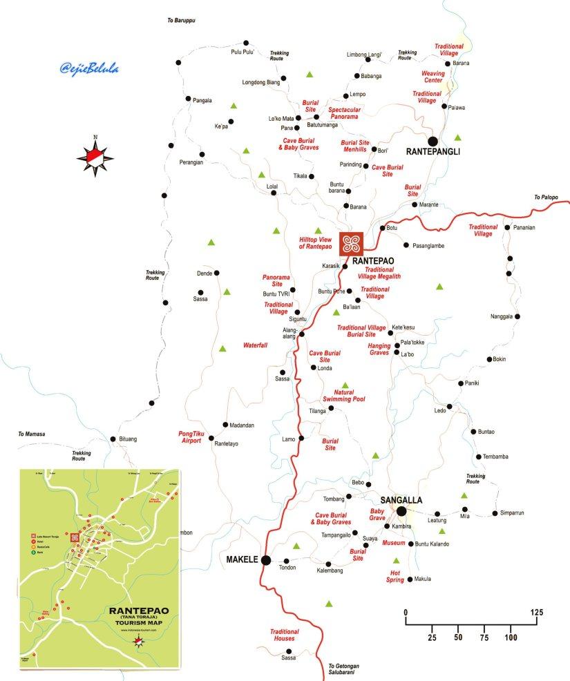 Map of Toraja 2 (doc pribadi)