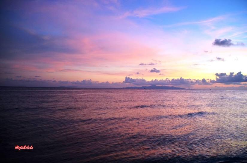 Sunset Tunda Beach, Serang - Banten, Indonesia (doc pribadi)
