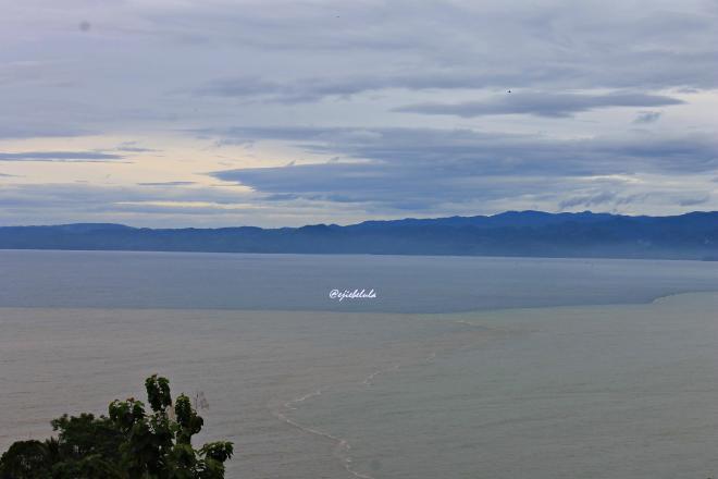 Langit Sukabumi sudah mulai cerah. Diambil pukul 09.14 WIB dari atas basecamp Backpacker Society melakukan kegiatan bakti sosial, Pos OBS RVAS Bulan. (doc pribadi)