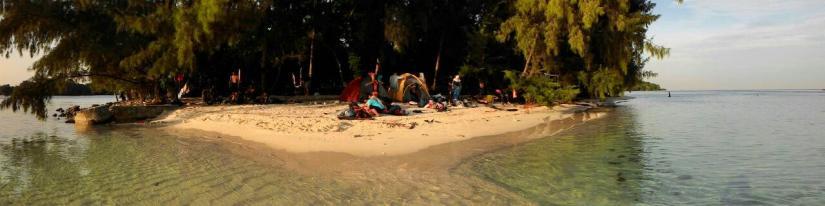 Panorama Pulau Dolphin. (doc Gia)