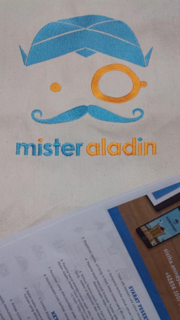 Gift, tas Mister Aladin (doc pribadi)