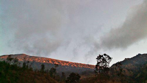 Gunung Rinjani dari Pos 3 (doc pribadi)