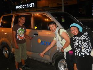 Yeay! DONE hitchhike Kota Tua Jakarta ke Sarinah Thamrin. (Doc pribadi, taken by om harr)