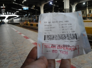 Ticket to Cicalengka (Doc pribadi)