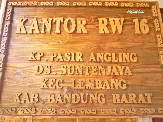 Basecamp Gunung Bulittunggul, rumah Pak RW, Edi Junaedi. (doc pribadi)