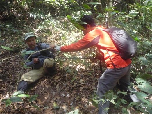 Kang Ali yang juga di webbing Kang Ading. (doc pribadi)