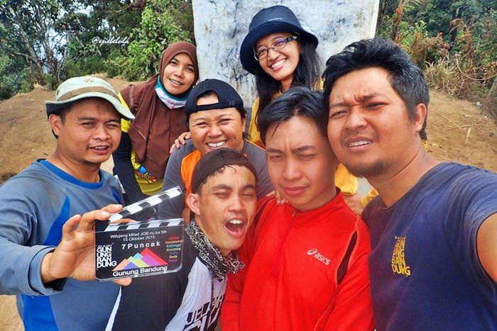 Selfie yang menjadi kebiasaan? Hahhahaaa.. LUCU! (doc Yunita R, the summiter)