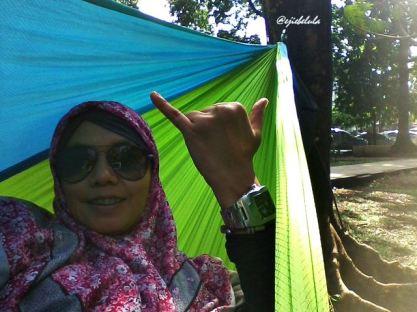 Taraaaa... ngga jago selfie! :P (doc pribadi)