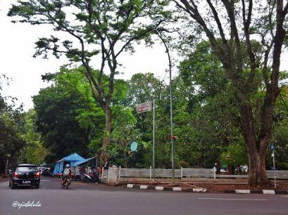 Ke arah Museum Pos Indonesia (doc pribadi)