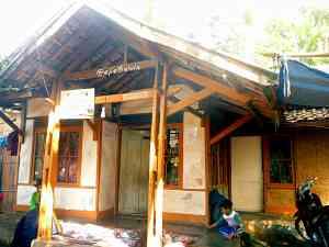 Rumah Pak Erka, Desa Tugumukti. (doc pribadi)