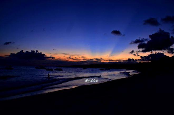 Sunset yang serupa -Tanjung Bira- (doc pribadi)